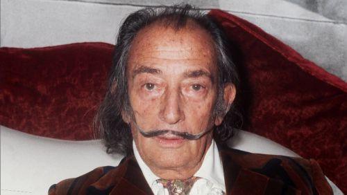 Bigode de Dalí está intacto 28 anos após a morte do pintor