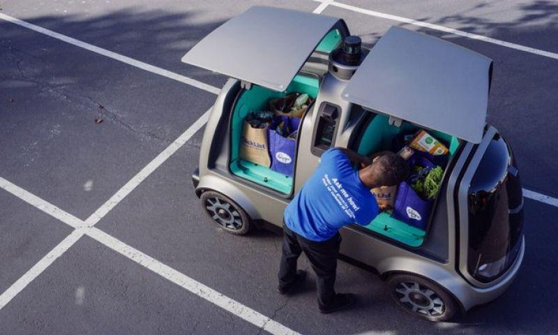 Veículo autônomo promete entregar as compras na casa do cliente