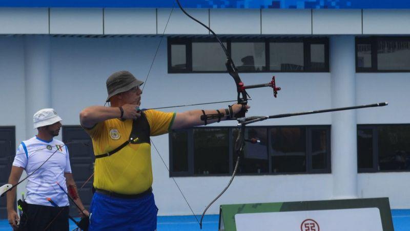 Tiro com arco garante ouro inédito para o Brasil nos JMM