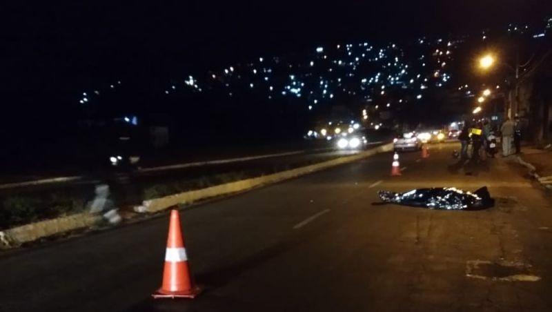 Motociclista morre em acidente no Bairro Vila Ideal em Juiz de Fora