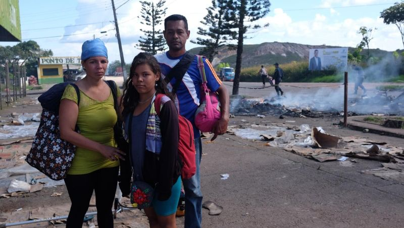 'Prefiro morrer de fome na Venezuela do que agredido aqui', diz imigrante atacado por brasileiros na fronteira em RR