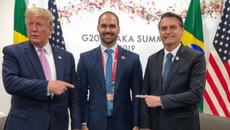 Bolsonaro suspende indicação de Eduardo para Embaixada dos EUA