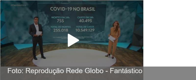 Brasil tem média móvel de 1.208 mortes diárias e bate recorde pelo 2° dia consecutivo