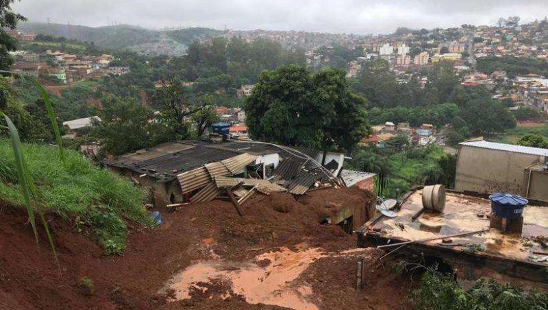 Minas tem pelo menos 14 mortos e 16 desaparecidos por causa das chuvas