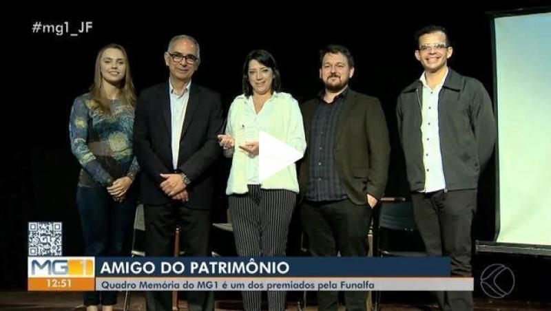 Quadro 'Memória' recebe Prêmio Amigos do Patrimônio em Juiz de Fora