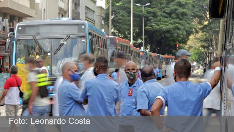 JF: Trabalhadores do transporte coletivo começam a ser vacinados na segunda