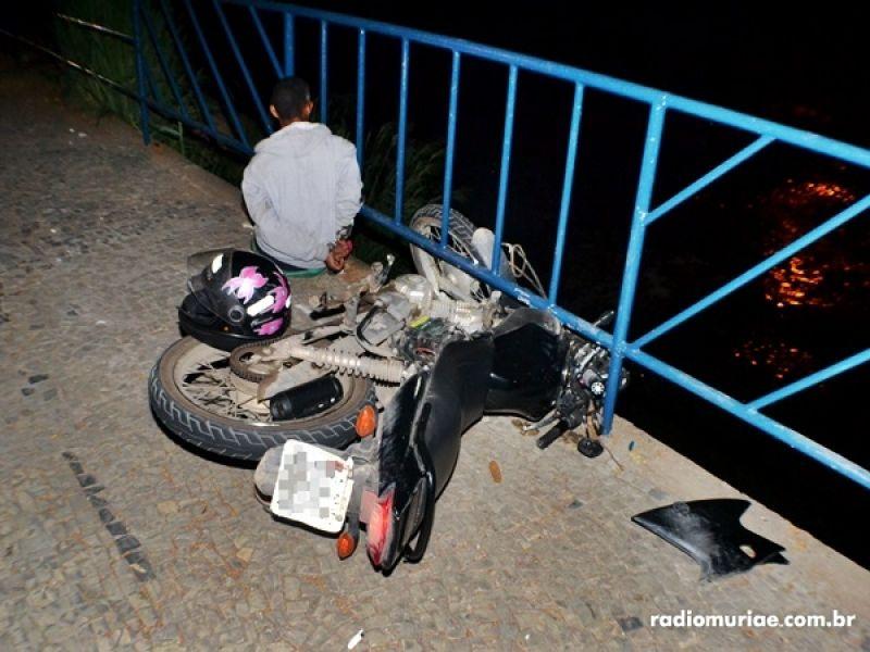 Após perseguição cinematográfica, PM recupera 2 motos furtadas e dupla é detida em Muriaé