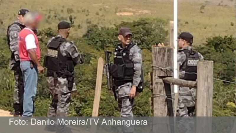 Lázaro é visto por morador se escondendo em gruta em Goiás