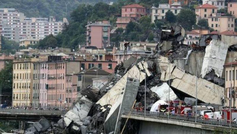 Sobe número de mortos com queda de ponte em Gênova