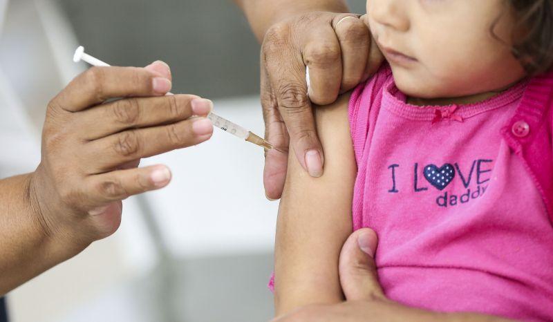 Vacinação: campanha contra pólio e sarampo termina hoje