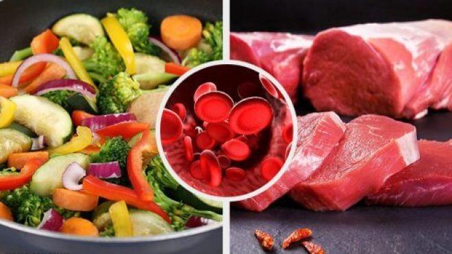 Alimentos para alcançar níveis normais de hemoglobina