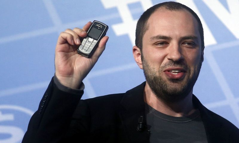 Jan Koum, criador do WhatsApp, anuncia saída da empresa