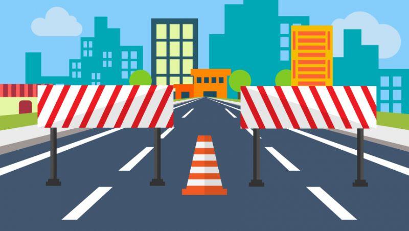 Regiões nordeste e norte de JF têm vias interditadas para festividades religiosas e obra