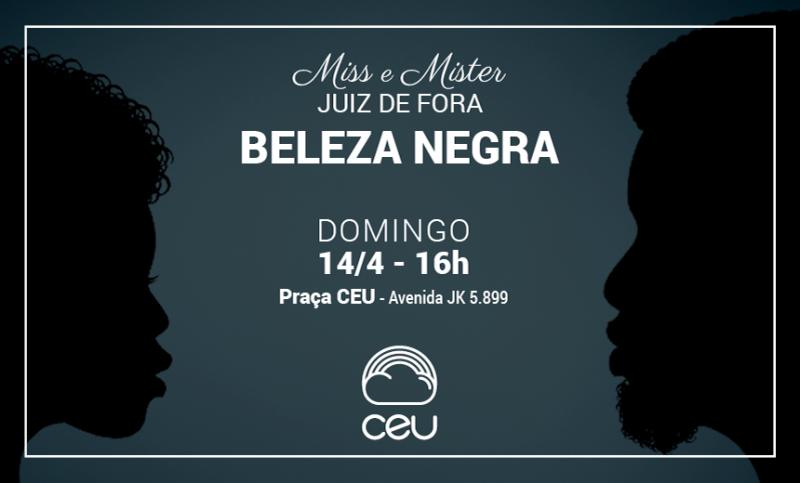 Praça CEU sedia concurso de beleza negra no domingo