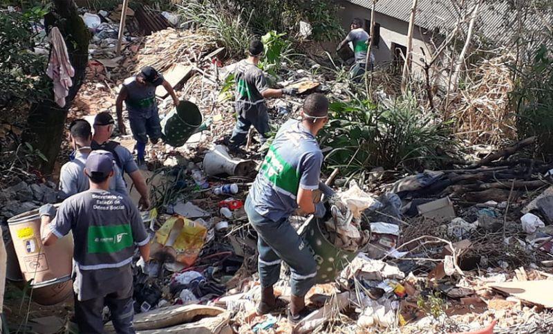 Combate à dengue: PJF retira 12 toneladas de lixo no Dom Bosco