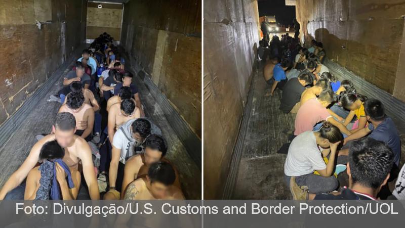 Brasileiros estão entre imigrantes ilegais achados na fronteira dos EUA