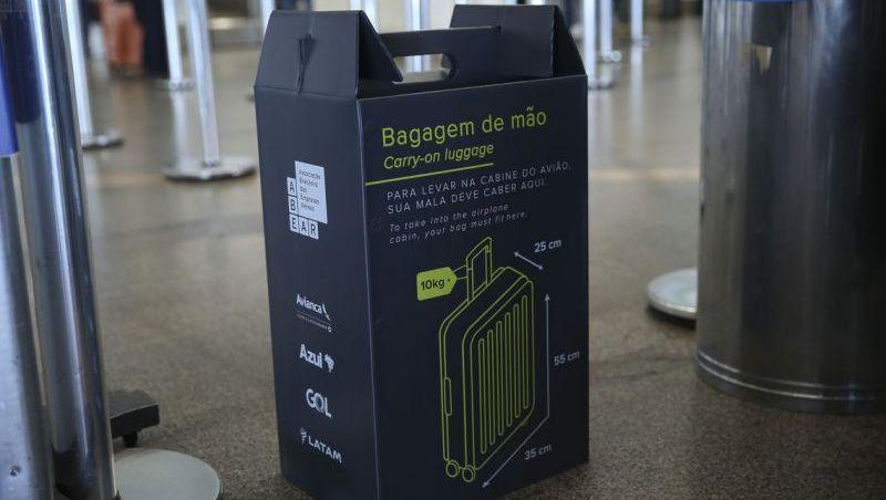 Aeroportos de Guarulhos e Salvador começam hoje a fiscalizar bagagens