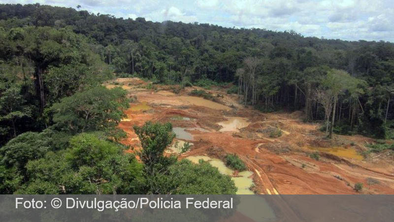 Contra garimpo ilegal, Polícia Federal deflagra Operação Rêmora