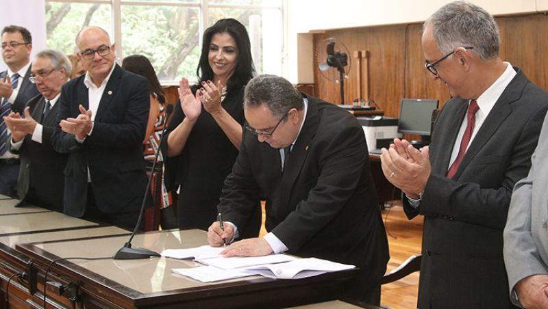 TJMG assina contrato para construção de novo Fórum em Juiz de Fora
