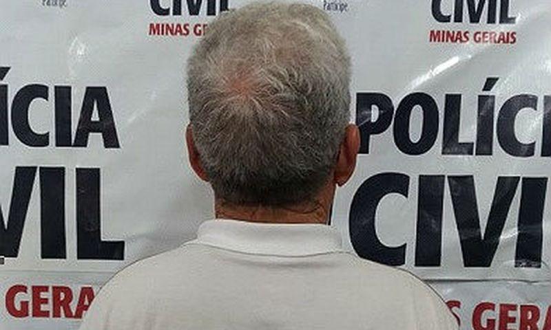Policial militar reformado é preso suspeito de estuprar a neta em Barbacena