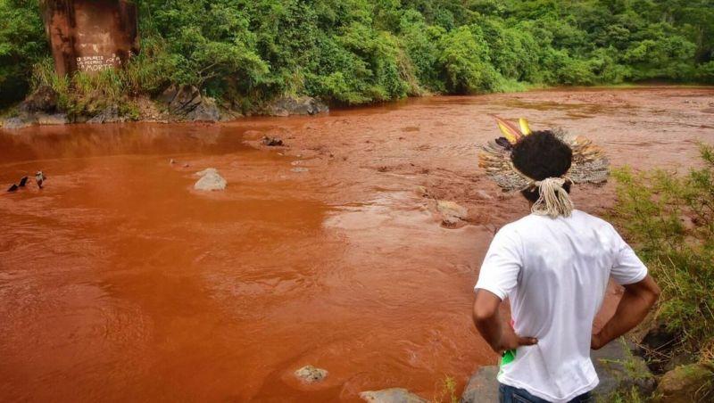 Avanço do rejeito no Rio Paraopeba perde força, mostra boletim