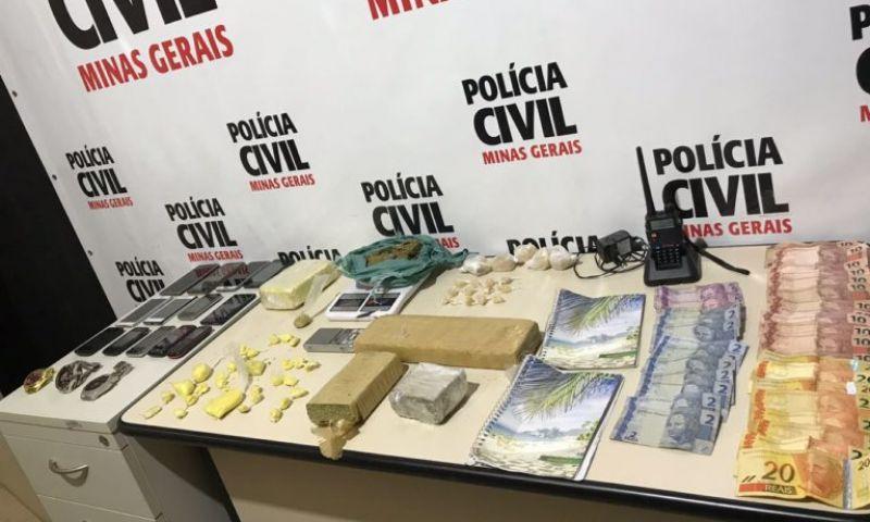 """Operação """"Efeito Borboleta"""" é deflagrada em Juiz de Fora para combater o tráfico de drogas"""