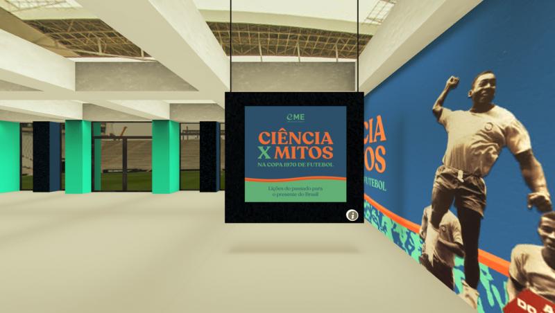 Museu Virtual do Esporte é lançado com exposição sobre a Copa de 1970