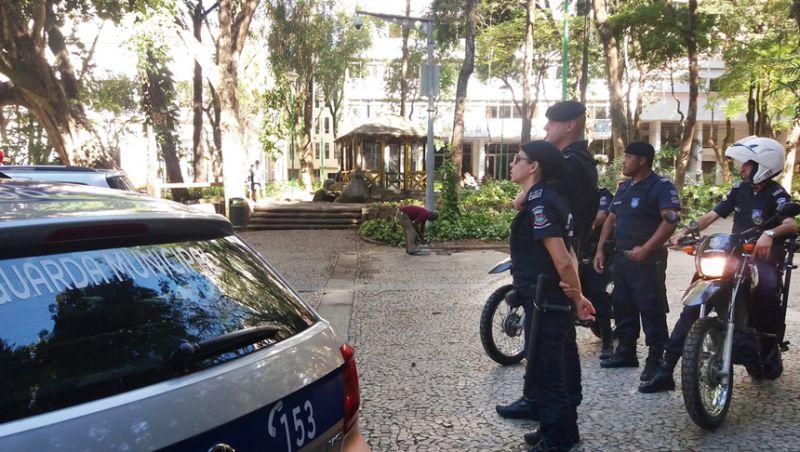 Guarda Municipal de Juiz de Fora realiza patrulhamento preventivo