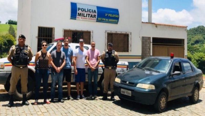 Pai e filho são presos suspeitos de matar homem em discussão política em Estrela Dalva