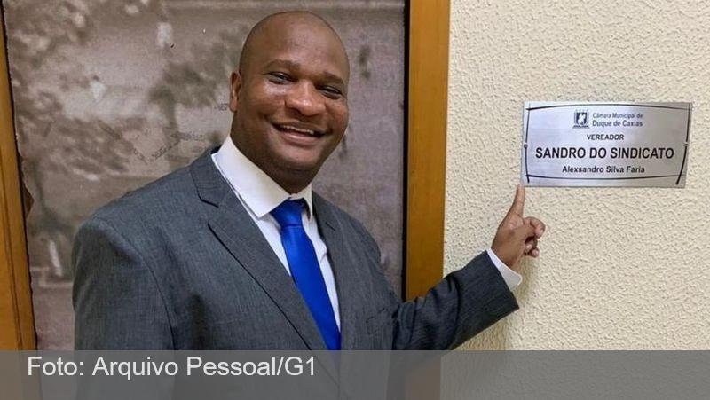Sandro do Sindicato, vereador de Duque de Caxias, é morto a tiros de fuzil