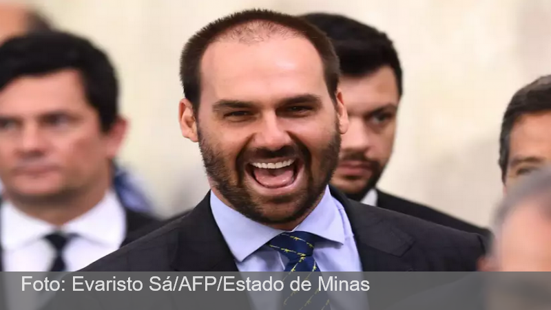 Eduardo Bolsonaro vai a Israel conhecer spray nasal contra COVID-19