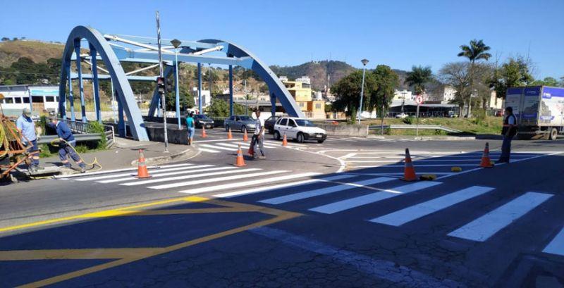 Settra altera sinalização para melhorar circulação em região da Avenida Brasil