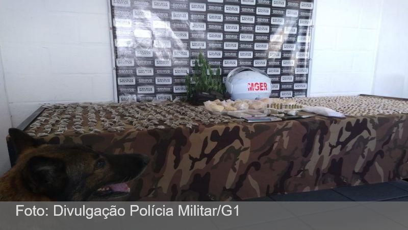 PM apreende drogas em operação no Bairro São Benedito em Juiz de Fora