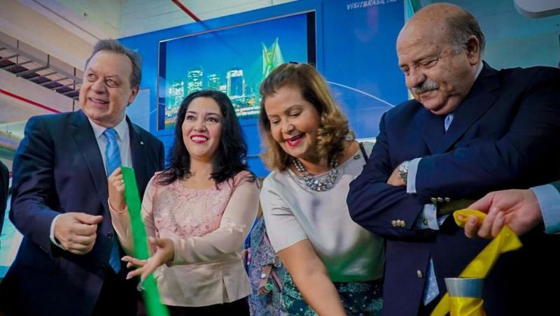 Feira debate ampliação do turismo entre Brasil e Paraguai