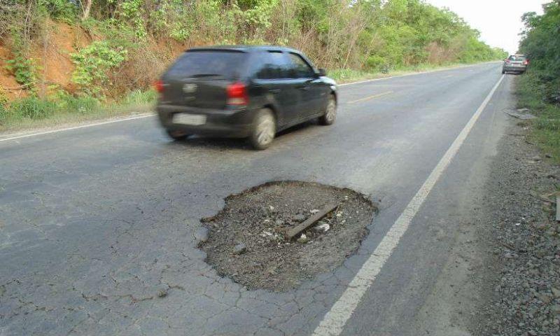 Minas Gerais tem 21% de estradas em estado de conservação ruim ou péssimo
