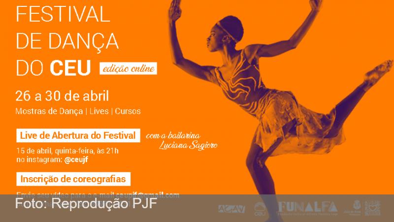 Praça CEU promove live com Luciana Sagioro e cadastra coreografias para mostras virtuais de dança