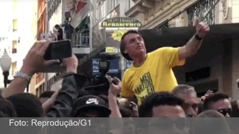 Bolsonaro diz que poderá passar neste ano pela quinta cirurgia em razão do atentado de 2018