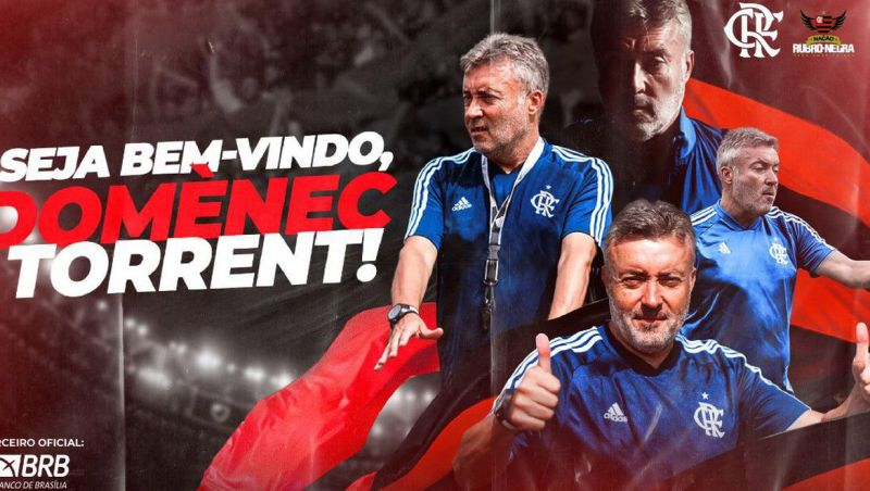 Domènec Torrent é o novo técnico do Flamengo