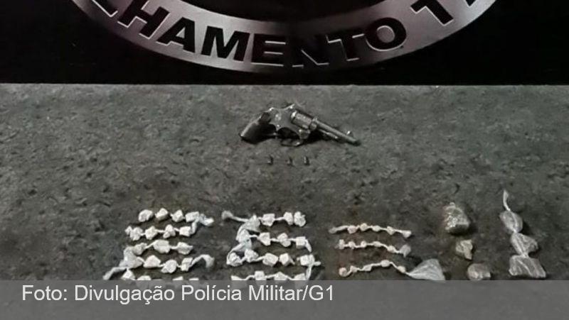 Maconha, crack e cocaína são apreendidos em condomínio de Juiz de Fora