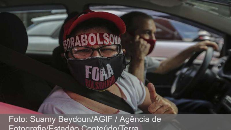 Protestos contra Bolsonaro são realizados em cidades do país