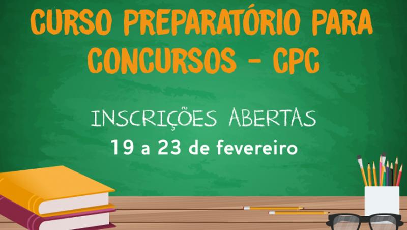 Começam hoje as inscrições para o Curso Preparatório gratuito da PJF