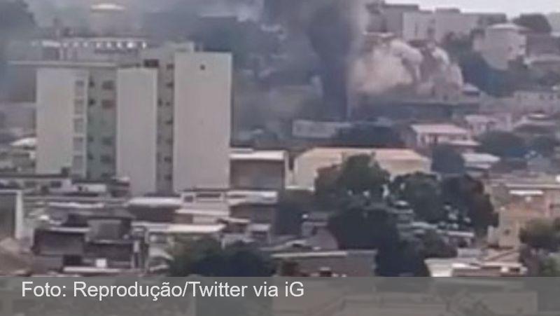 Prédio pega fogo no Rio de Janeiro por causa de carregador de celular