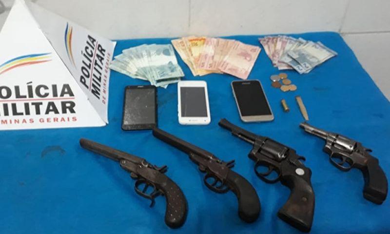 PM descobre esquema de armas em ação entre JF e Rio Novo
