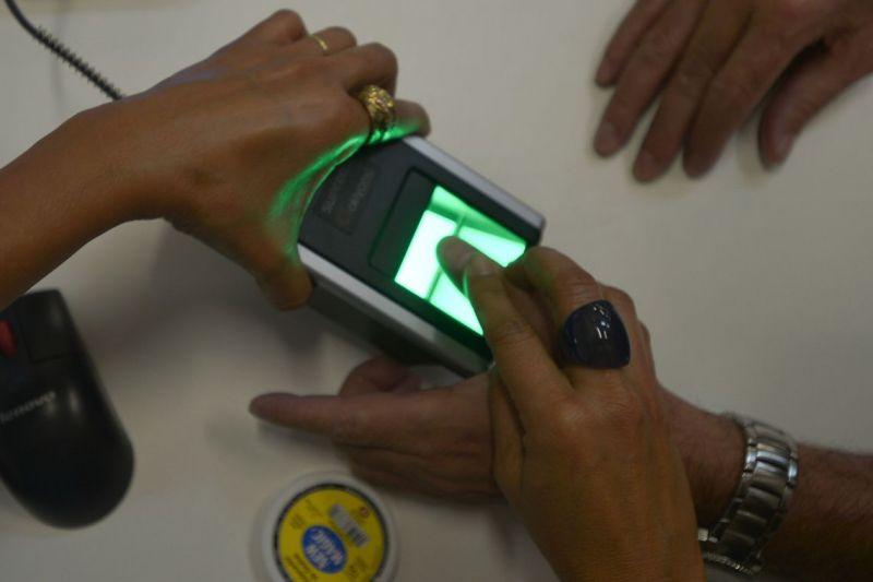 Cadastramento biométrico é feito por 72% dos eleitores