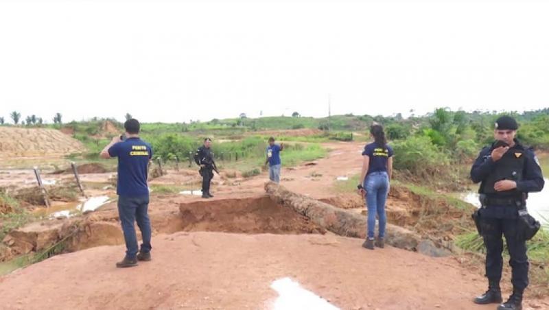 MP abre inquérito para apurar rompimento de barragem em Rondônia