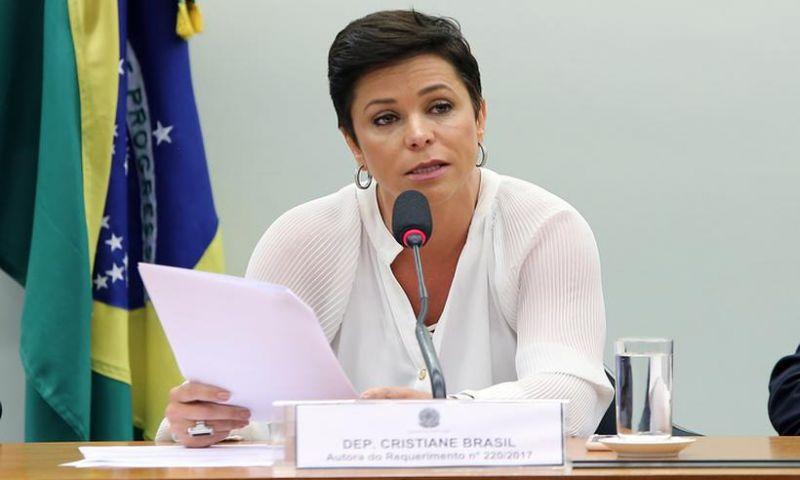 Procuradoria vê indícios de que Cristiane Brasil integra organização criminosa