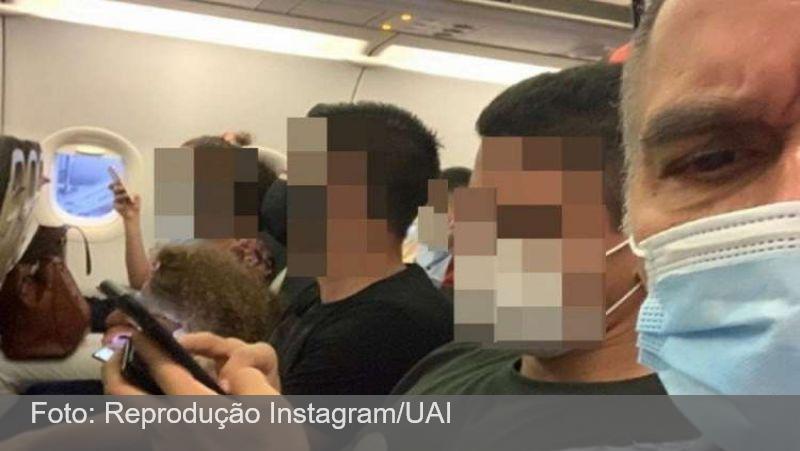 Ator reclama de avião cheio e seguidores rebatem: 'Não é hora de viajar'