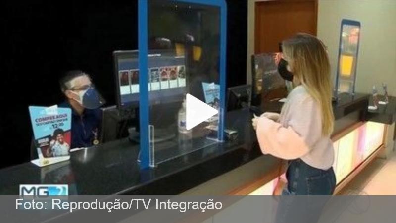 Com avanço da vacinação, salas de cinema retomam exibições em Juiz de Fora