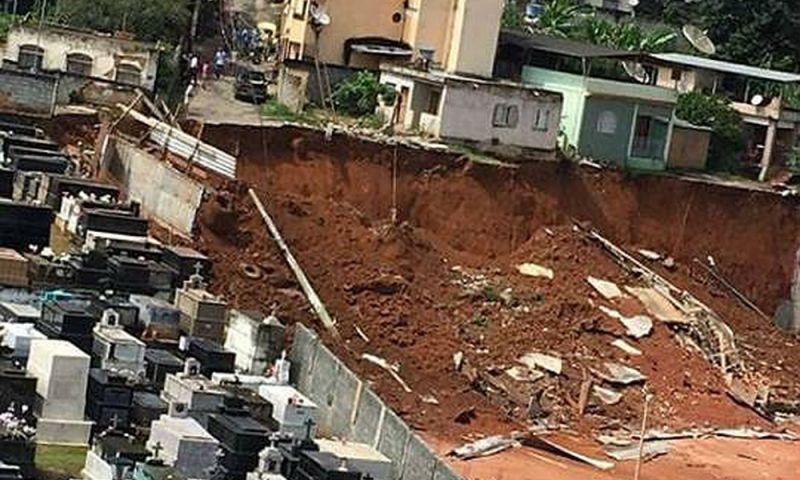 Prefeitura autoriza obra emergencial em terreno atingido por deslizamento de terra em Viçosa