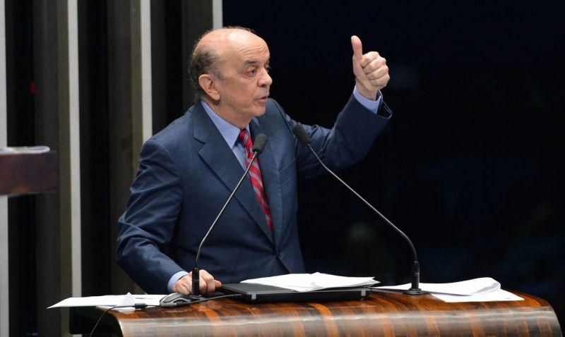 Toffoli suspende investigações sobre senador José Serra